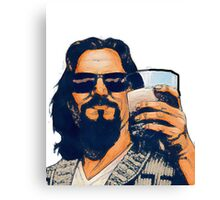 The Dude and the White Russian Canvas Print