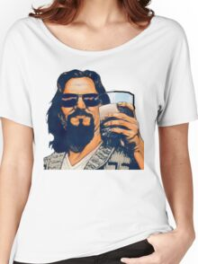 The Dude and the White Russian Women's Relaxed Fit T-Shirt