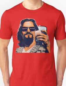 The Dude and the White Russian Unisex T-Shirt