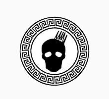 Greek Keys Black Cranium Design T-Shirt
