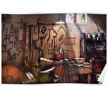 Steampunk - Machinist - The inventors workshop  Poster