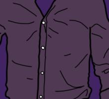 The Purple Shirt Sticker