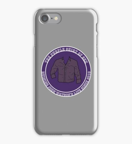 The Purple Shirt iPhone Case/Skin