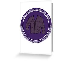 The Purple Shirt Greeting Card