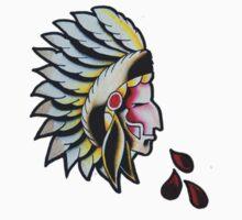 Native Warrior by BonyHomi