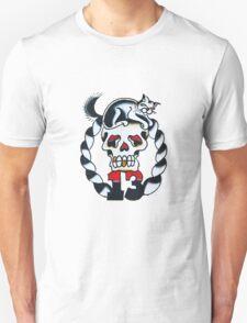Lucky 13 - Black Cat Unisex T-Shirt
