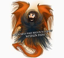 Dragon Sickness | Thorin Oakenshield [White Title] Unisex T-Shirt