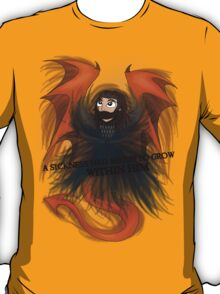 Dragon Sickness | Thorin Oakenshield [Black Title] T-Shirt
