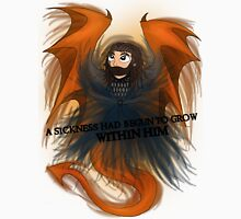Dragon Sickness | Thorin Oakenshield [Black Title] Unisex T-Shirt