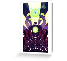 Robot Frenzy Part II Greeting Card