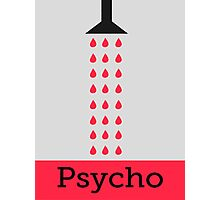 Minimal Psycho Print Photographic Print
