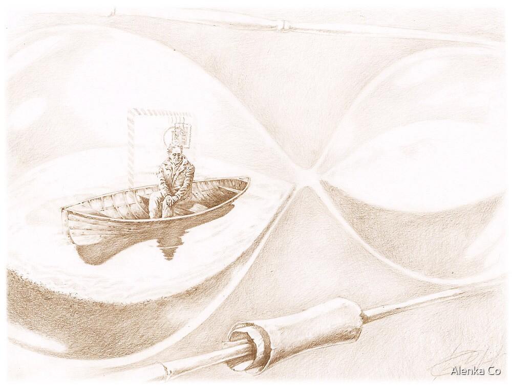 """SandGlass""  by Sergei Rukavishnikov by Alenka Co"