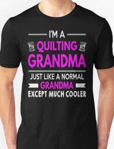 Cool Quilting Grandma T-Shirt