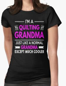 Cool Quilting Grandma T-Shirt