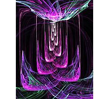 Chandelier of Spiritual Light Photographic Print