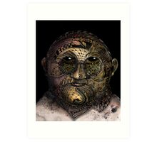Huka man Art Print