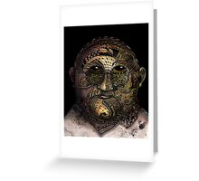 Huka man Greeting Card