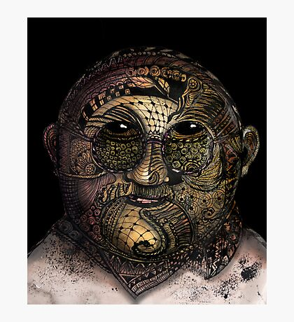 Huka man Photographic Print