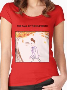 The Fall of the Eleventh Women's Fitted Scoop T-Shirt