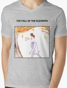 The Fall of the Eleventh Mens V-Neck T-Shirt