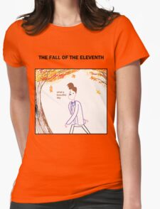 The Fall of the Eleventh Womens Fitted T-Shirt
