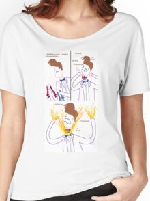 Three Bowties Women's Relaxed Fit T-Shirt