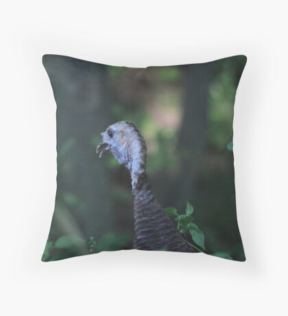 Turkey Head Throw Pillow