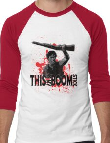 Army of Darkness, Ash, This is my Boomstick Men's Baseball ¾ T-Shirt