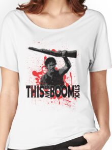 Army of Darkness, Ash, This is my Boomstick Women's Relaxed Fit T-Shirt