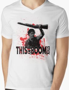 Army of Darkness, Ash, This is my Boomstick Mens V-Neck T-Shirt