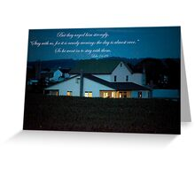 Firefly Evening Greeting Card