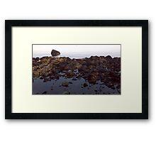Surreal Rocks Framed Print