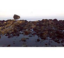 Surreal Rocks Photographic Print