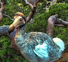 ☝ ☞RARE EXTINCT- DODO BIRD (RAPHUS CUCULLATUS) CARD/PICTURE ☝ ☞  by ✿✿ Bonita ✿✿ ђєℓℓσ