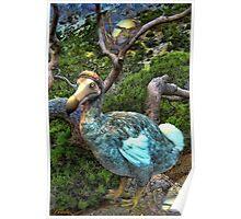 ☝ ☞RARE EXTINCT- DODO BIRD (RAPHUS CUCULLATUS) CARD/PICTURE ☝ ☞  Poster