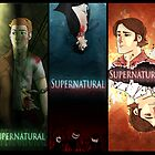 Supernatural Boys Print by Cookiecutter60