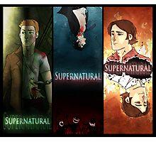 Supernatural Boys Print Photographic Print