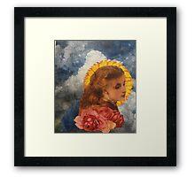 Fiorella Framed Print