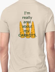 Silly Carrot Art Unisex T-Shirt