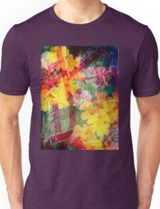 Floral ribbon print Unisex T-Shirt
