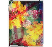 Floral ribbon print iPad Case/Skin