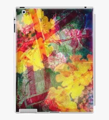Floral ribbon print iPad Case/Skin