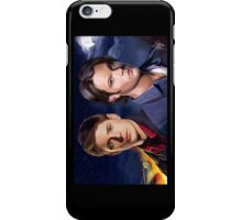 You and me against the world iPhone Case/Skin