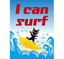 I can surf Photographic Print