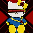 Cyclops kitty by DavinciSMURF