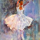 Ballet Painting - Dance Art Gallery by Ballet Dance-Artist