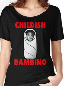 Childish Bambino Women's Relaxed Fit T-Shirt