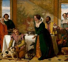 Augustus Leopold Egg - Launce's Substitute for Proteus' Dog 1849 by Adam Asar