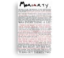 Mor(ia)rty Metal Print