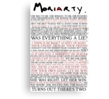 Mor(ia)rty Canvas Print
